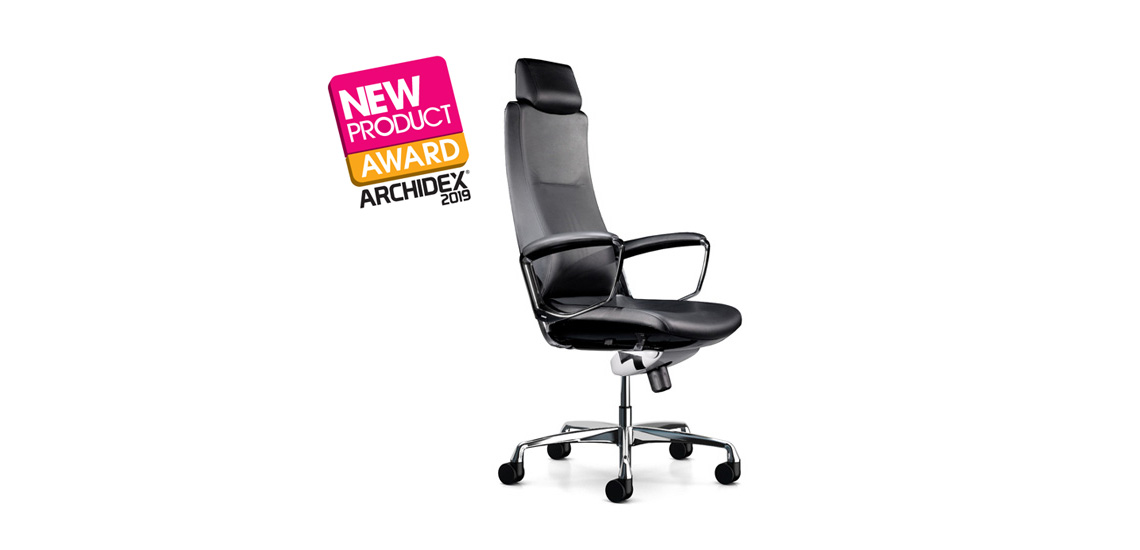 Liven chair won the Archidex 2019 new product award.